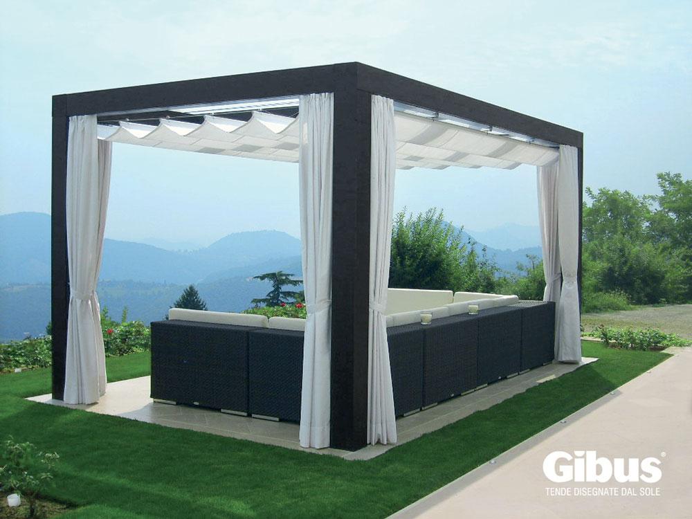 Fabuleux Med tende per gazebo da esterno - Gibus - Tende tecniche e da sole  BW54